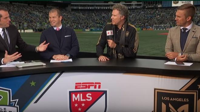 Will Ferrell does Ron Burgundy impression for LAFC
