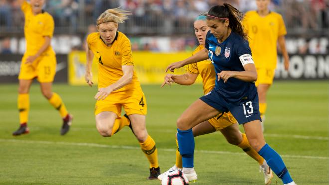 Alex Morgan makes the list of best women's soccer players of all time.
