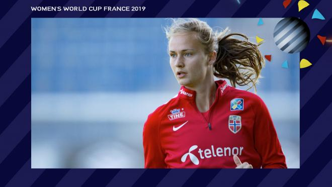 Caroline Graham Hansen Norway Women's World Cup