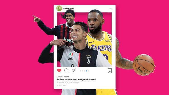 Athletes With The Most Instagram Followers