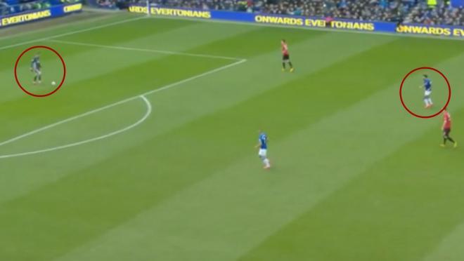 David de Gea howler vs Everton