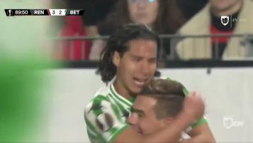 Diego Lainez Goal vs Rennes