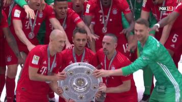 Ribery Goal vs Frankfurt