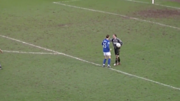 Goalie Mistake