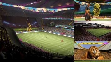 FIFA 21 build your own stadium