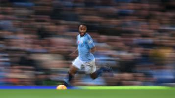 Raheem Sterling showboating