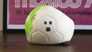 This ball is glad the USA is not in the World Cup