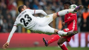 Besiktas Launch A Furious Three-Goal Comeback Beginning With A Scissor Volley