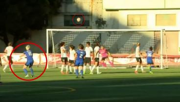 Megan Rapinoe Curls Ridiculous 30-Yard Free Kick As Part Of Stunning Hat Trick