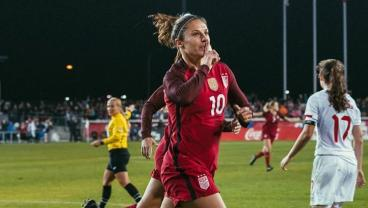 Superbly Worked Team Goal Highlights USWNT's 3-1 Trouncing Of Canada