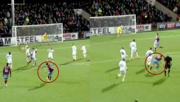 Genius Hits Insane Left-Footed Goal. Two Minutes Later, He Does It With The Right Foot