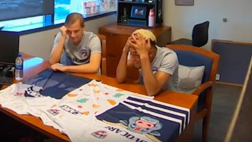 FC Dallas Presents Horrific New Jerseys To Players In Hilarious Prank Video