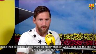 Messi Gives 7-Minute Interview On Captaincy, World Cup Pain And Changing Landscape Of Club Football