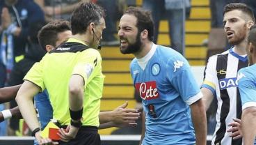 Higuain Suspension Is The Final Nail In The Coffin For Napoli