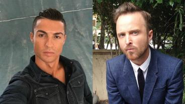 Cristiano Ronaldo And Breaking Bad Star Aaron Paul Face-Off In A Tense Poker Duel
