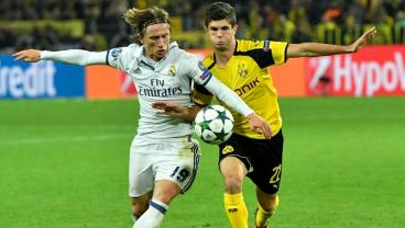 Christian Pulisic Sets Up Dortmund Equalizer Against Real With Superb Run And Cross