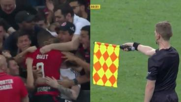 Watch The Longest, Most Impassioned Offside Goal Celebration You'll Ever See