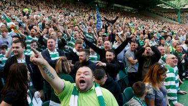 Celtic Fan Arrested For Throwing Hamburger At Police Horse