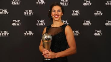 Even Carli Lloyd Was Shocked At Winning The FIFA Player Of The Year Award