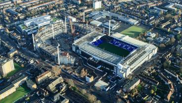 Tottenham's New Stadium Is Slowly Eating The Old One