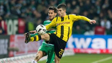 Christian Pulisic Re-Ups With Borussia Dortmund Until 2020