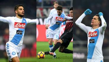 The Naples Trinity Combine To Sink Milan