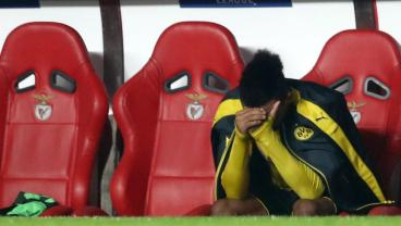 Benfica Beat Dortmund 1-0 After Pierre-Emerick Aubameyang Plays Like Trash