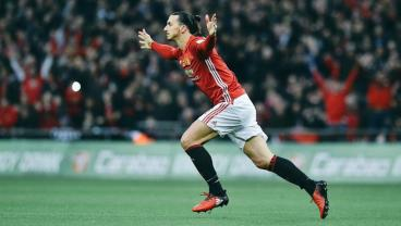 Zlatan Ibrahimovic Conquers Wembley To Gift Manchester United The EFL Cup