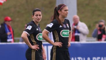 Alex Morgan Scores A Superb Hat Trick For Lyon In The French Cup