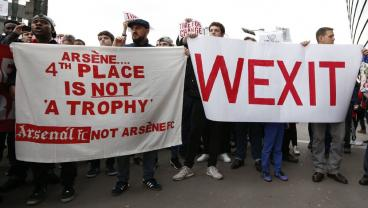 """There Is A Wenger Out Movement That Involves """"Wexit"""""""