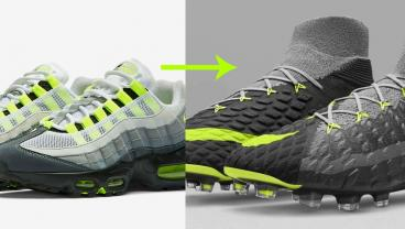 Nike's Classic Air Max Sneakers Serve As Inspiration For New Soccer Boots
