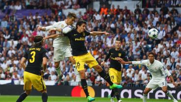 Cristiano Ronaldo's 101st UCL Goal Gives Real The Early Lead In Madrid Derby
