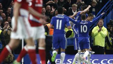 Chelsea Are One Win Away From The EPL Title, And Middlesbrough Are Relegated