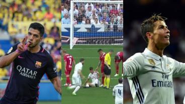 Great Goals From Suarez, Ronaldo And Nacho Prove It's The Smallest Of Margins In La Liga