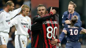 Watching David Beckham Provide Outrageous Assists For Various Legends Is A Good Time