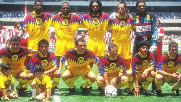 Club America Turn To The 90s For 2017-18 Jersey Inspiration