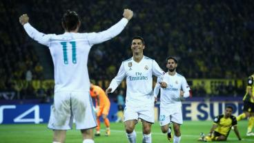 Master Class From Ronaldo, Real Madrid Puts Borussia Dortmund On Champions League Brink