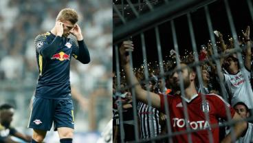 Timo Werner's 32nd Minute Substitution Due To Extreme Besiktas Crowd Noise