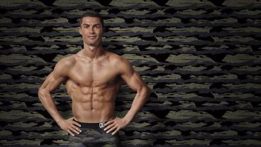 Cristiano Ronaldo Is Hawking Camo Underpants Now