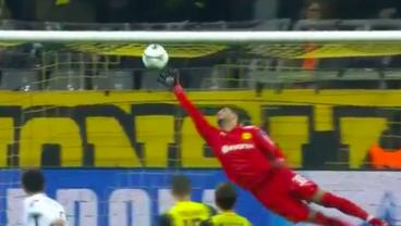 Good Grief, How About THIS Save From Roman Burki?