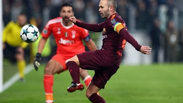 Juventus Stadium's Ovation For Andres Iniesta Will Bring A Tear To Your Eye