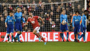 Forest And USMNT Defender Eric Lichaj Dumps Arsenal Out Of FA Cup With Brace