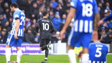 Eden Hazard Gives Timely Reminder That He Is Not Normal