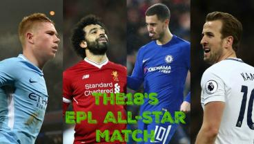 Imagining A 2017-18 North vs. South EPL All-Star Game, Er, Match