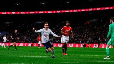 Christian Eriksen Scores The Fastest Goal Of EPL Season vs. Man United