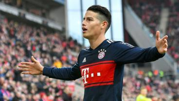 While Real Madrid Flounders, James Rodriguez Is In The Best Form Of His Bayern Career
