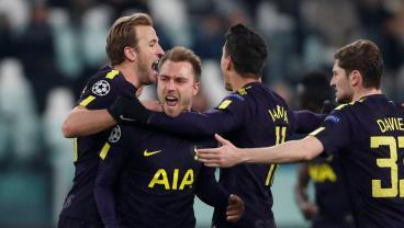 Christian Eriksen Free Kick Completes Insane Spurs Comeback vs. Juventus