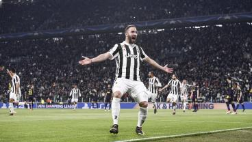 Gonzalo Higuain Puts Juventus Ahead Immediately Via Tricky Free Kick Routine