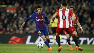 Coutinho Scores His First Right-Footed Thunderbolt As A Barcelona Player