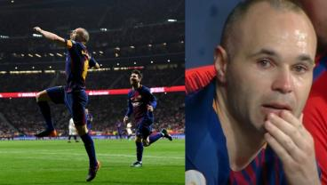 Andres Iniesta Signs Off With An Absolute Master Class